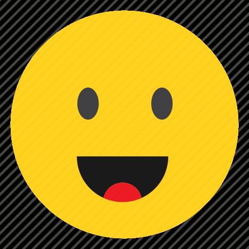 avater, emoji, emoticon, face, happy, smile icon