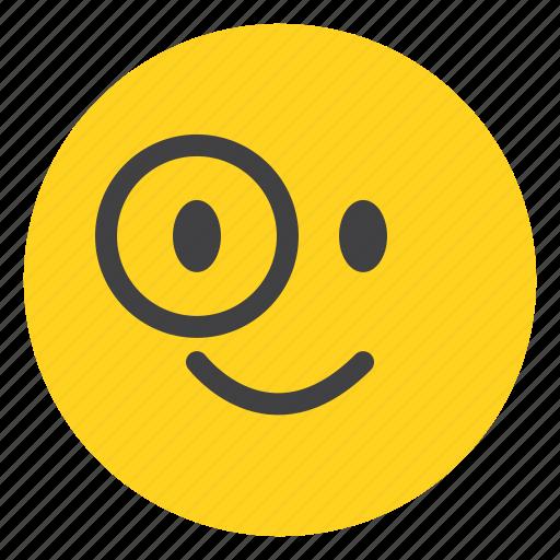 Emoticon, face, avater, smile, happy, emoji icon