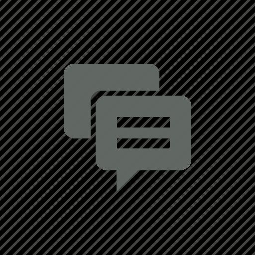 bubble, chat, comment icon