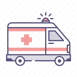 ambulence, car, emergency, first help, health, healthcare, medical icon