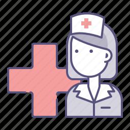 ambulance, assistant, doctor, health, hospital, medical, nurse icon