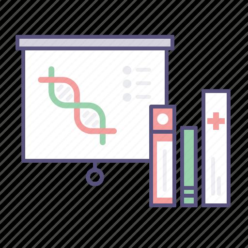 dna, documentation, presentation, research icon