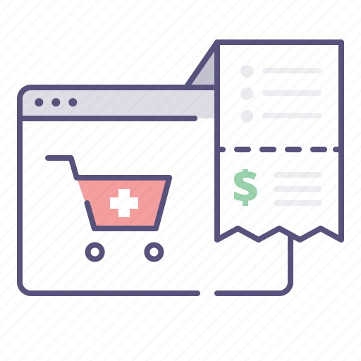 drugstore, invoice, medicine, pills icon