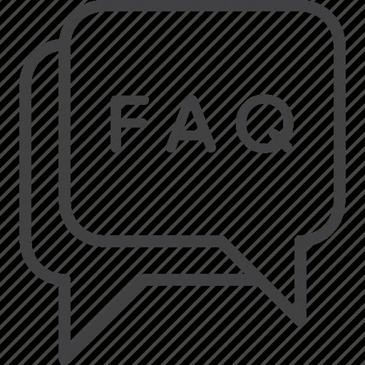 bank, communication, faq, icon, loan, money, set icon