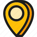 direction, location, marker, navigation, pin, placeholder, pointer icon