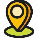 direction, gps, location, map, marker, market, pointer icon