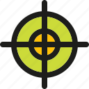 arrow, arrows, down, marketing, navigation, right, target icon