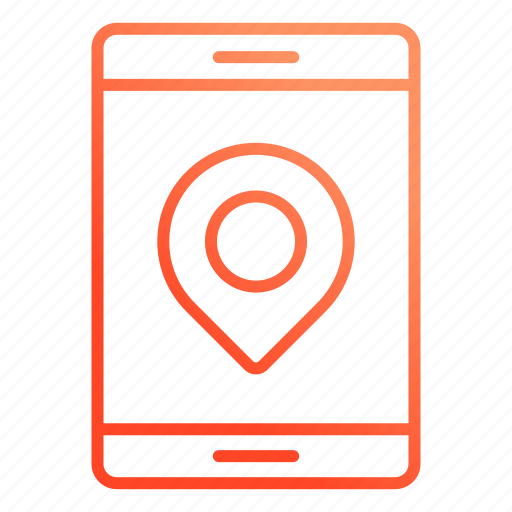 gps, location, point, pointer icon
