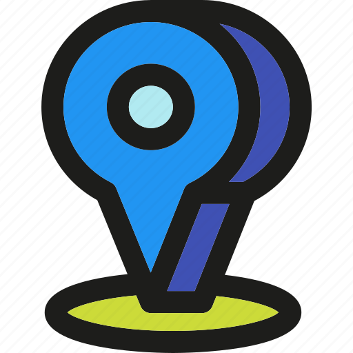 arrow, direction, gps, location, marker, pin, pointer icon