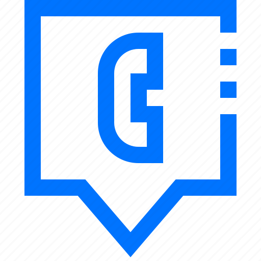 call, chat, marker, navigation, phone, pin, telephone icon