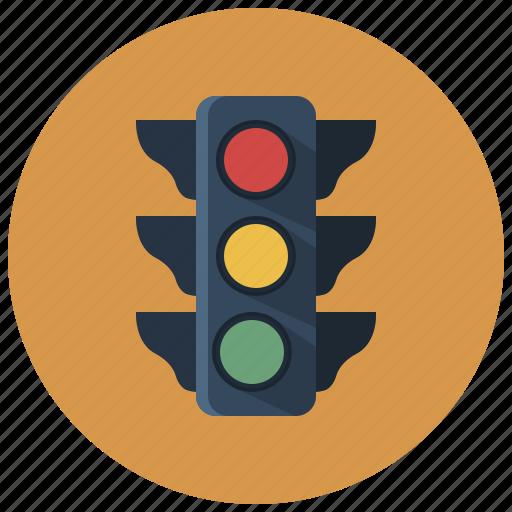 city, location, navigation, street, traffc lights, traffic, traffic light icon