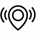 gps, internet, location, marker, pin, point, signals