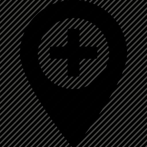 add destination, add location, add place, add position, additional location icon