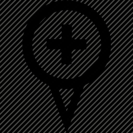 add feature, add pin, pin attribute, pin feature, pin location icon