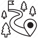 coordinate infographic, infographic, road infographic, roadmap, winding road icon