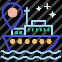 location, navigation, sea, water location