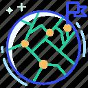 destination, earth, global, pin, world
