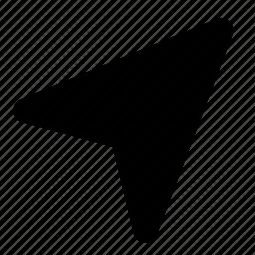 direction, location, navigation icon