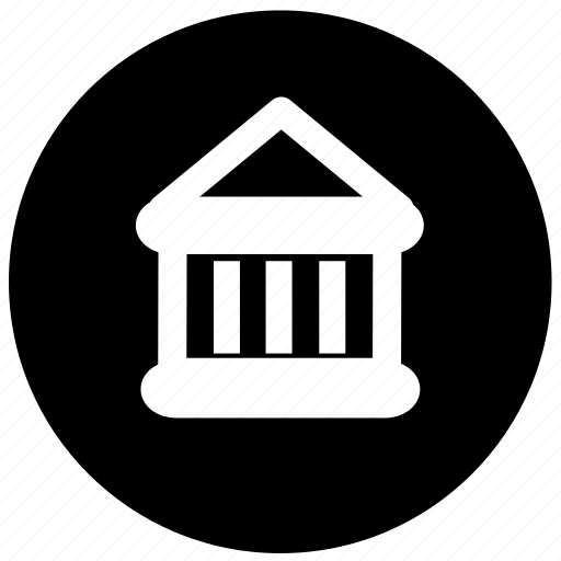 bank, bank location, government, government location icon