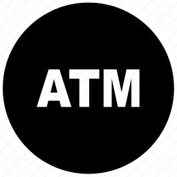 atm, atm location icon