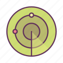 gps, location, map, navigation, pin, pointer, radar icon