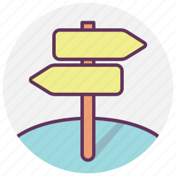 arrows, direction, gps, location, map, navigation, pointer icon