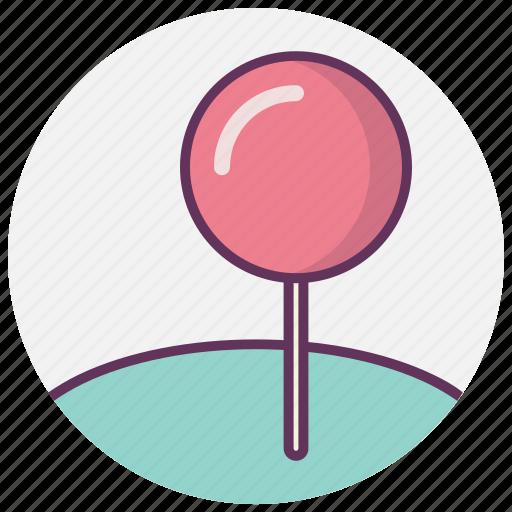 chupa choops, gps, location, map, navigation, pointer, sweet icon