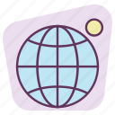 earth, gps, location, map, moon, pointer, satellite icon