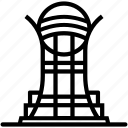 bayterek, building, landmark, location, tower