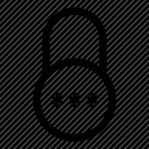 firewall, internet, key, lock, locked, password, security icon