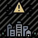 alert, critical, emergency, lockdown, threat icon