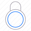 closed, locks, padlock, protection, security icon