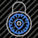 lock, locks, padlock, protection, security, standard icon