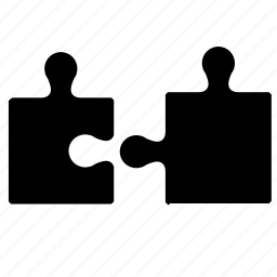 connect, logic, piece, puzzle icon