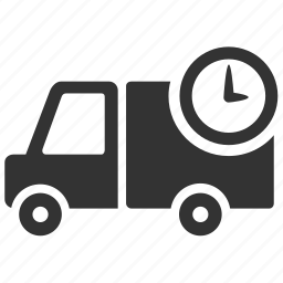 delivery, logistic, ontime, shipping, transport, truck, waggon icon