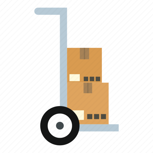 box, cardboard, delivery, pack, shipment, transport, truck icon