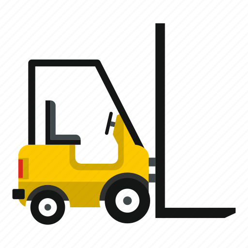 box, cargo, delivery, distribution, equipment, loader, stacker icon