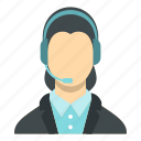 business, center, operator, phone, service, support, telephone icon