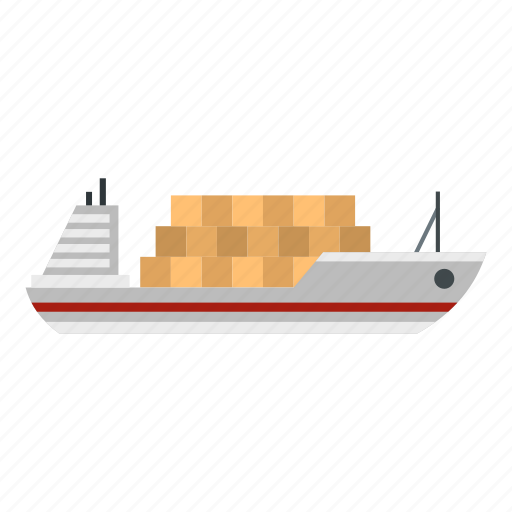 business, cargo, freight, sea, ship, transport, vessel icon
