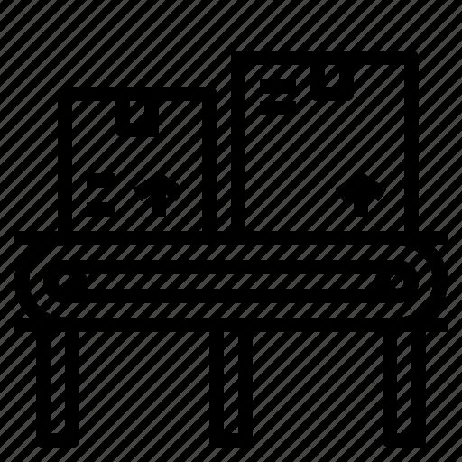Belt, conveyer, conveyor, delivery, package icon - Download on Iconfinder