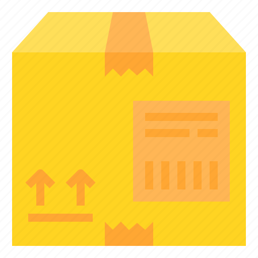 box, delivery, logistic, package icon