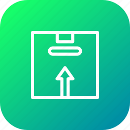 box, delivery, handle, logistic, package, parcel, shipping icon