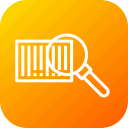 barcode, find, magnify, qrcode, scan, scanner, search