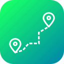 delivery, detaination, location, logistic, marker, pin, source icon