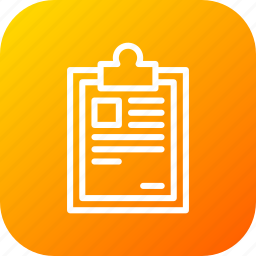clipboard, delivery, identify, list, logistic, pen, sign icon