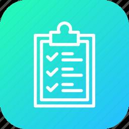 checklist, clipboard, delivery, identify, logistic, pen, sign icon