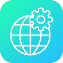 globe, globel, international, setting, transport, travel, world icon