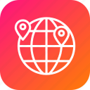 globe, globel, international, location, logistic, transport, world icon