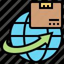 distribution, export, global, shipment, supply
