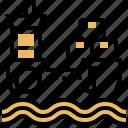cargo, container, freight, sea, shipping icon